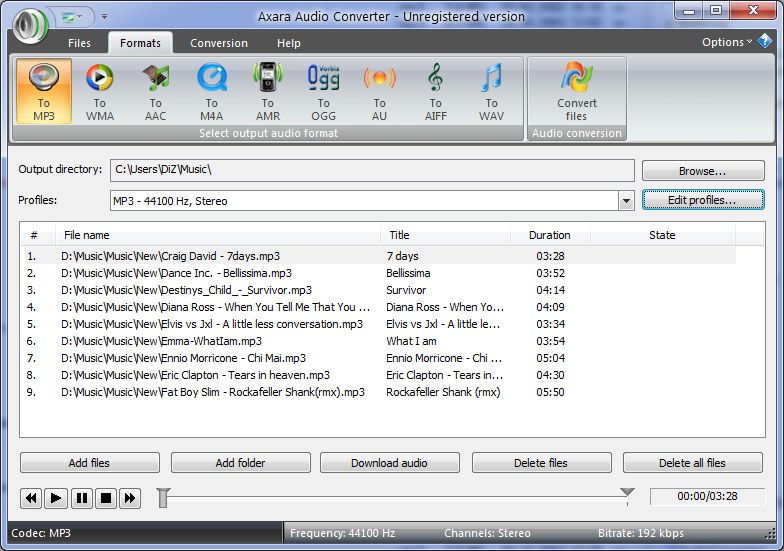 m3u to mp3 converter free download software