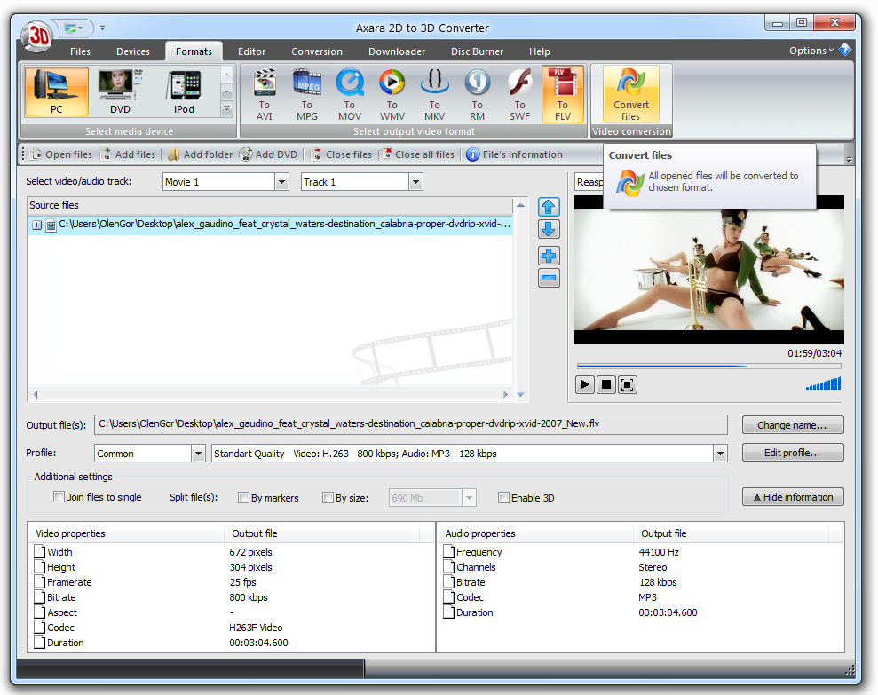 best 2d to 3d converter software free