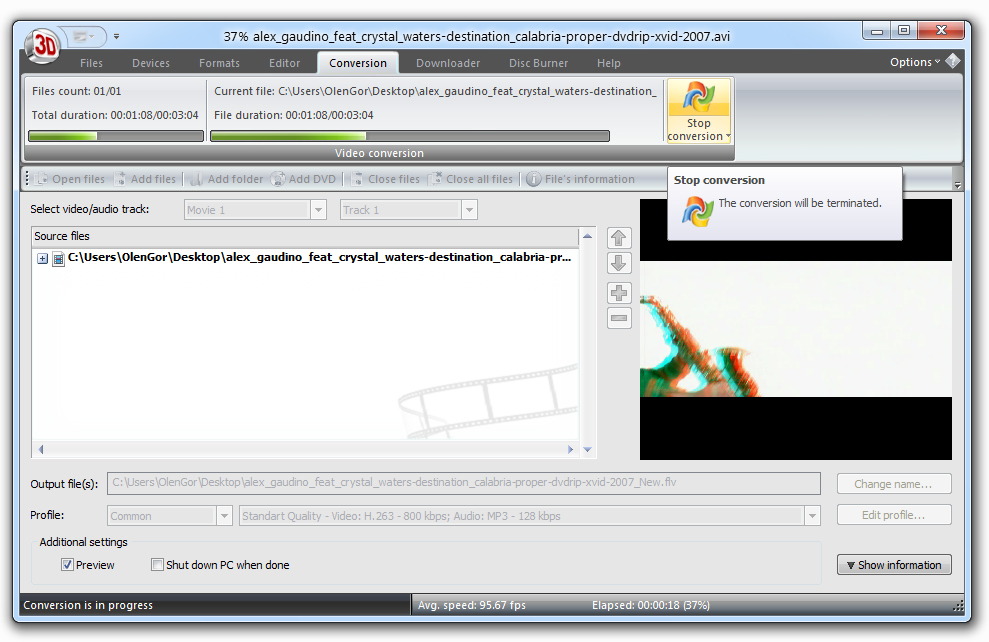 2d to 3d converter software free